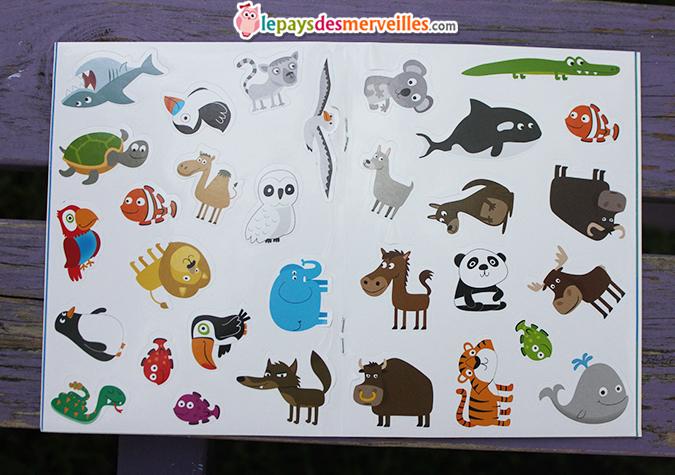 stickers jeux pour les curieux grund