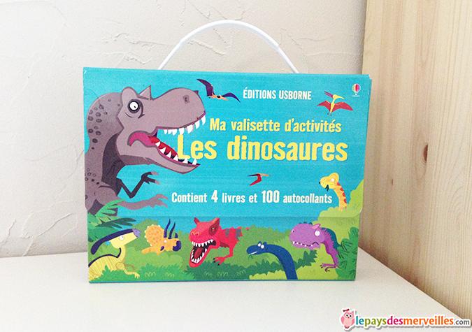 Ma valisette d'activités les dinosaures Usborne