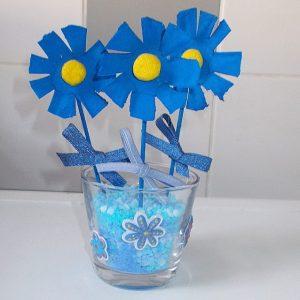 activité fleurs bleues