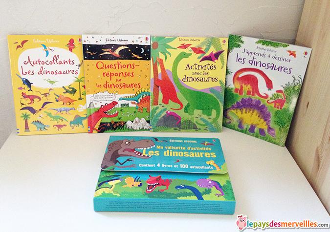 livre d'activité dinosaure