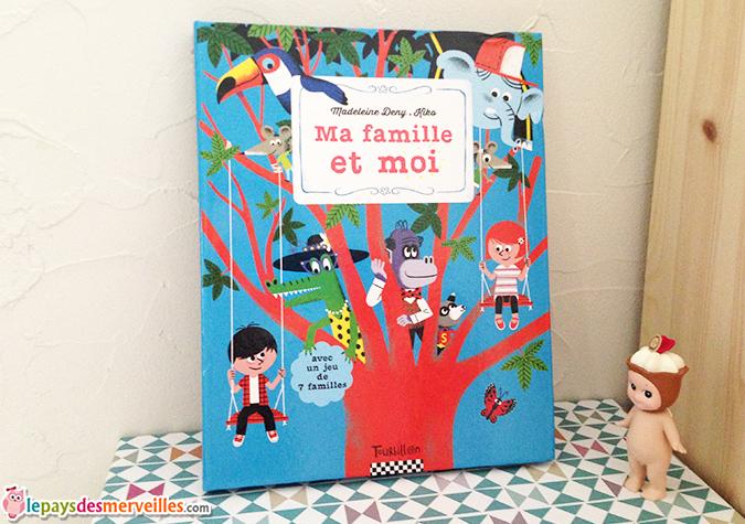 ma famille et moi éditions Tourbillon