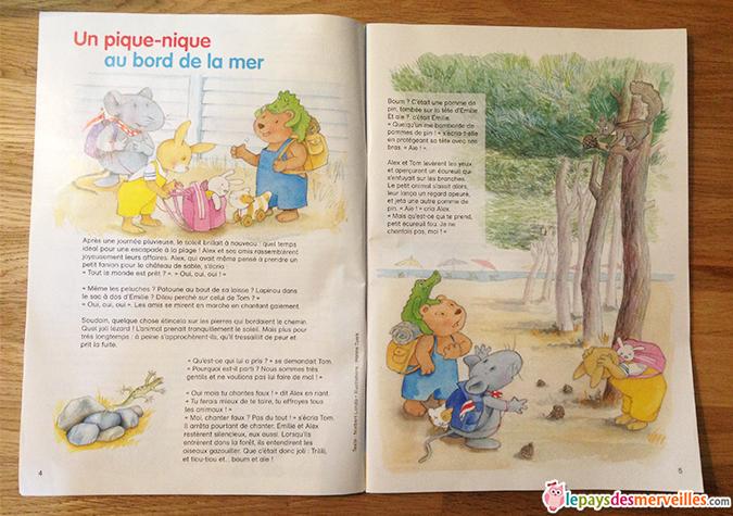 magazine enfant histoires