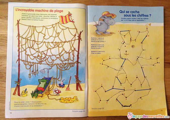 magazine enfant jeux