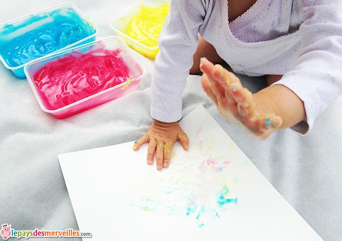 peinture fait maison bébé