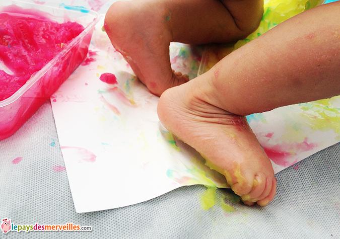 recette peinture comestible