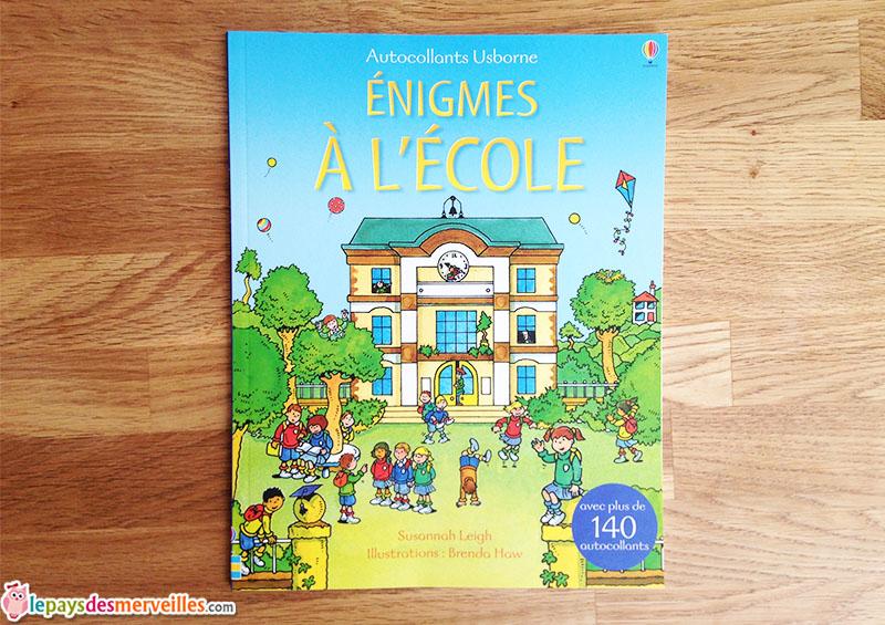 Enigmes à l'école éditions Usborne