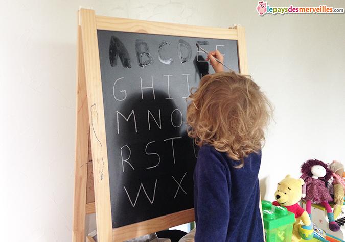 activité alphabet tableau