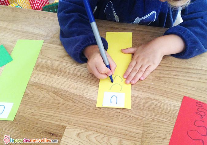 activité ecrire son prenom
