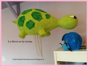 activité le lievre et la tortue