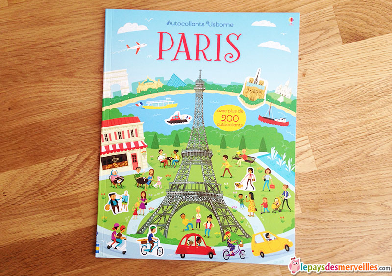 autocollants Usborne Paris