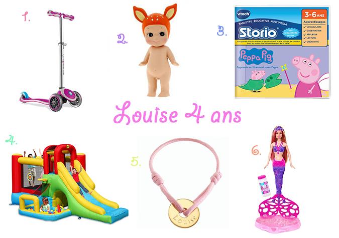 Des idées cadeaux pour les 4 ans de Louise   Le pays des merveilles