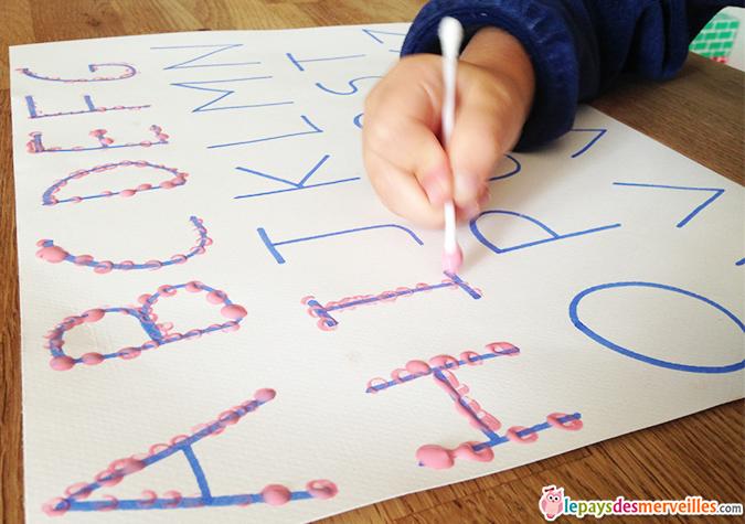 jouer avec l'alphabet