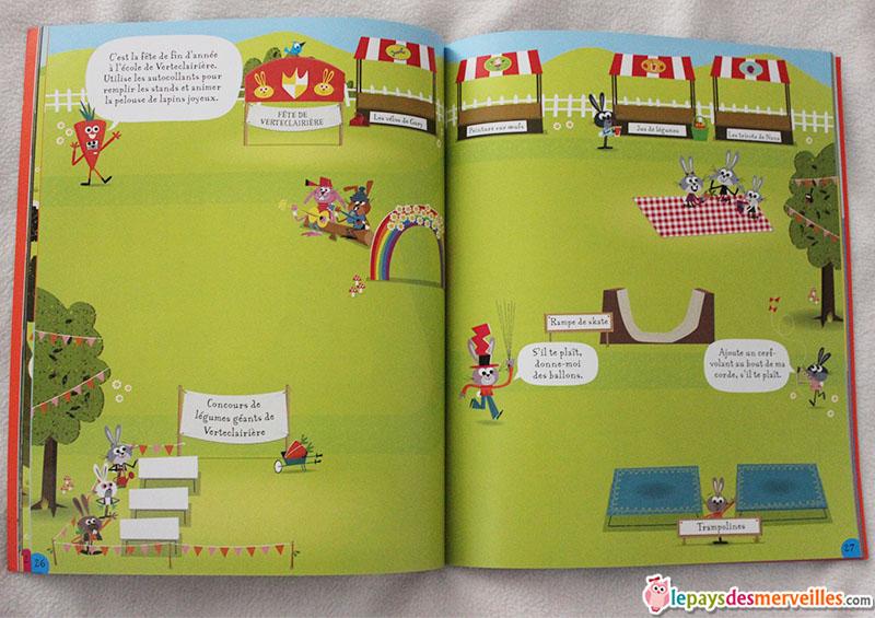 livre d'autocollants lapin (2)