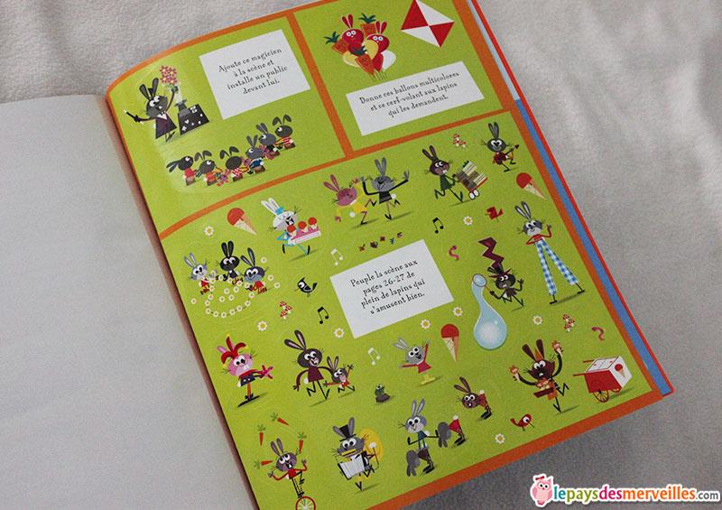 livre de jeux thème lapin (1)
