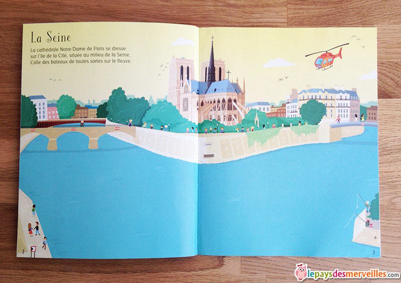 livre jeux autocollants La seine