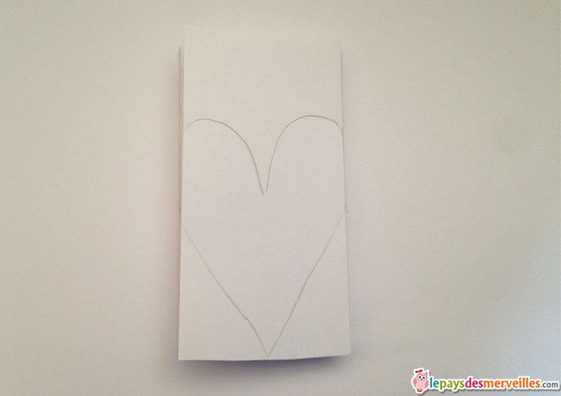 ribambelle de papier coeur