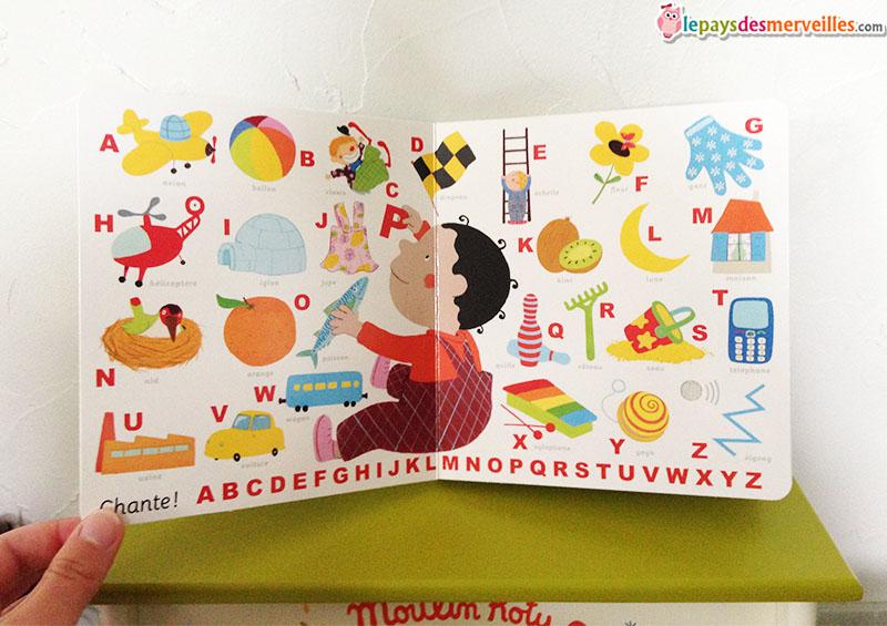 comptine alphabet