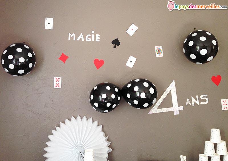 décoration anniversaire thème magie (11)