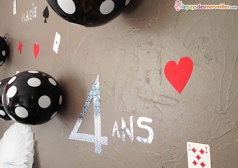 décoration anniversaire thème magie (12)
