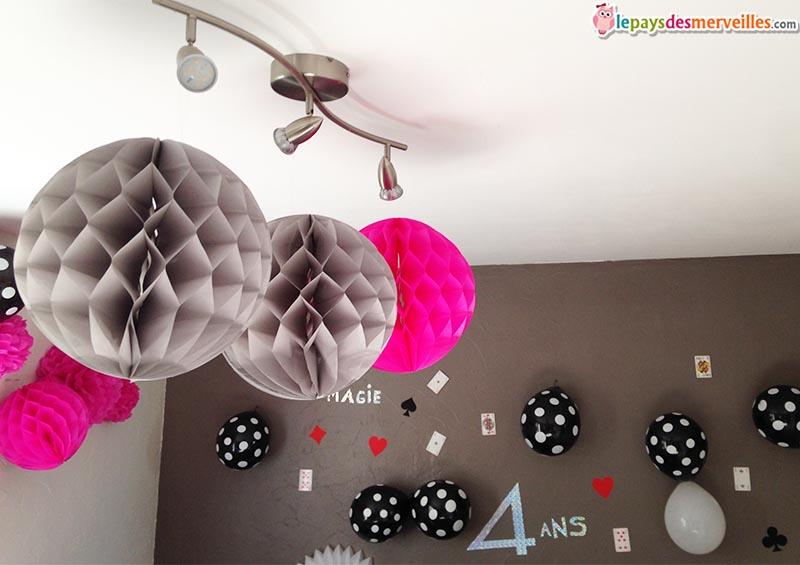 décoration anniversaire thème magie (8)