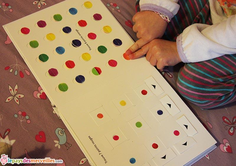 livre animé les couleurs