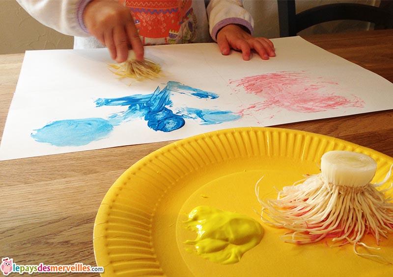peindre avec des legumes