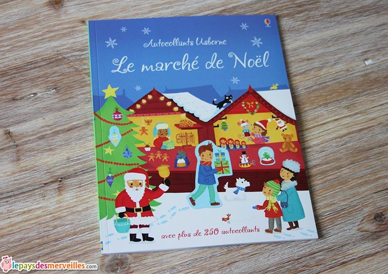 Autocollants Usborne Le marché de Noel (1)