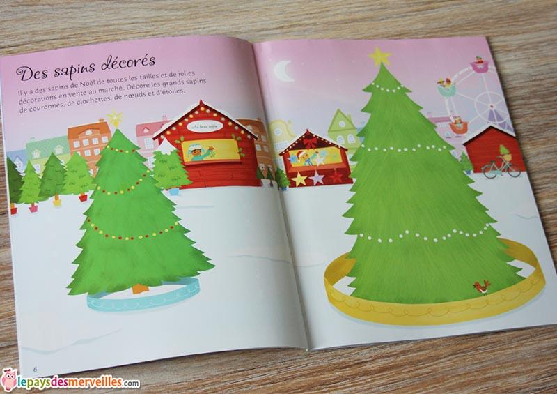 Autocollants Usborne Le marché de Noel (2)