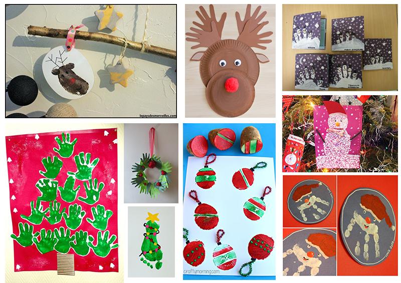 40 idées de bricolages pour occuper les enfants en attendant Noël ...