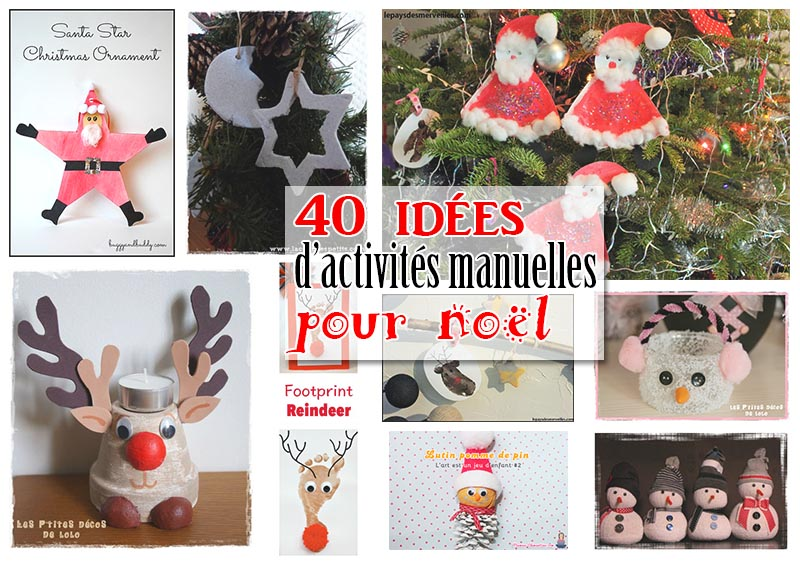 Faire Des Decorations De Noel Enfant