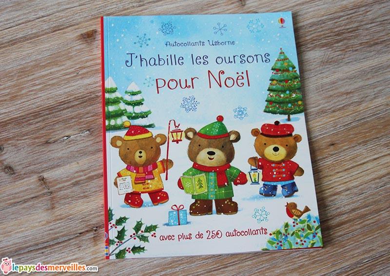 j'habille les oursons pour Noel Usborne (1)
