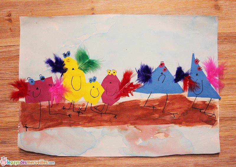 l'art est un jeu d'enfant activité leger comme une plume (1)