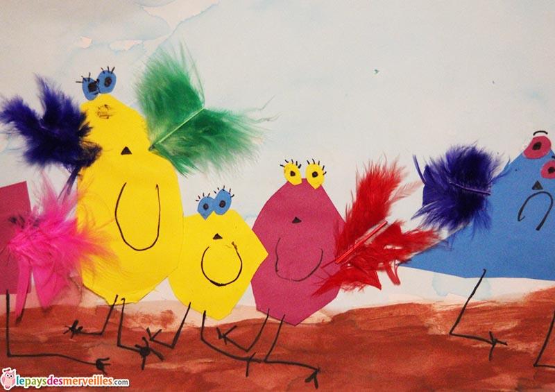 l'art est un jeu d'enfant activité leger comme une plume (2)