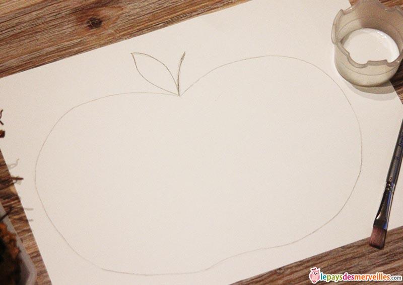 matériel activité d'automne pomme et feuille (3)