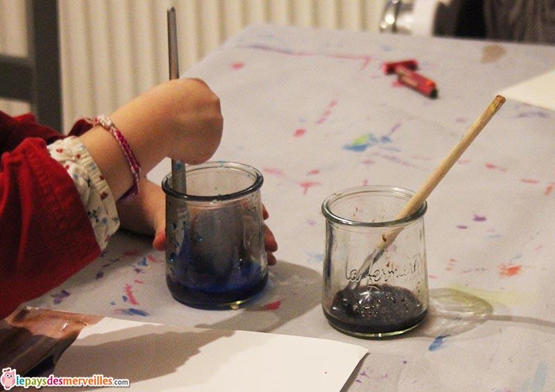 peindre avec de l'encre (1)