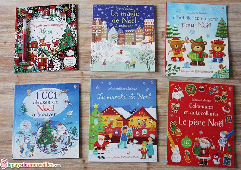 selection livres activités noel Usborne