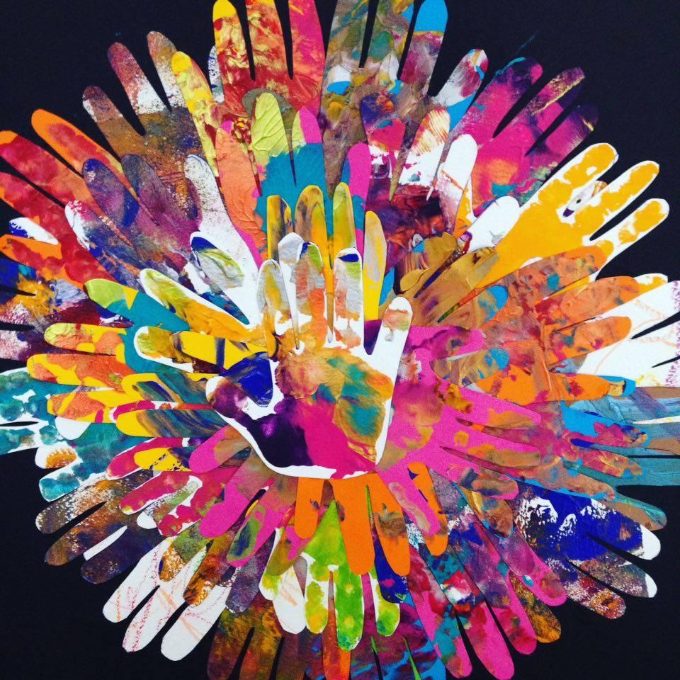 Collage Et Peinture 224 L Encre Des Oiseaux Sur Une