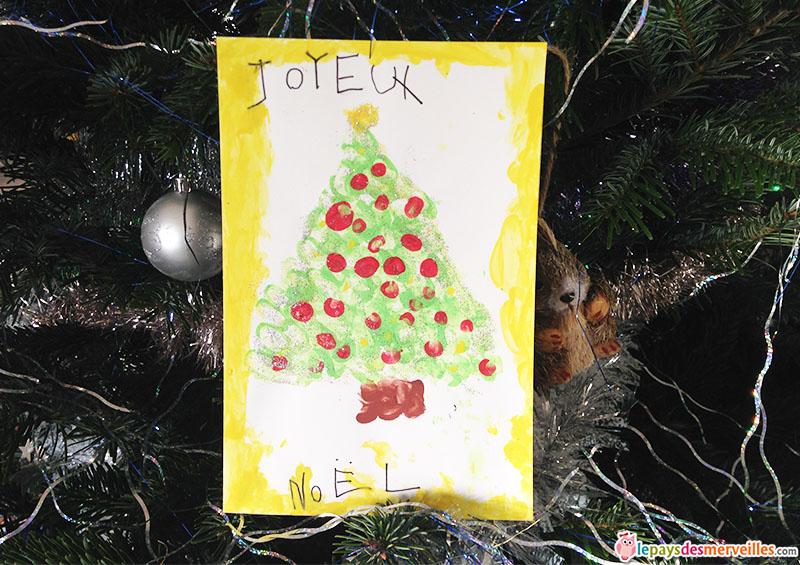 Ma Carte De Noel.Une Jolie Carte Pour Dire Joyeux Noël Le Pays Des Merveilles