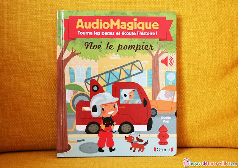 Audiomagique livre parlant