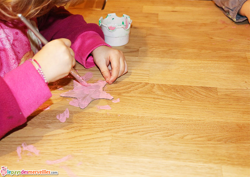 DIY bricolage baguette de fée