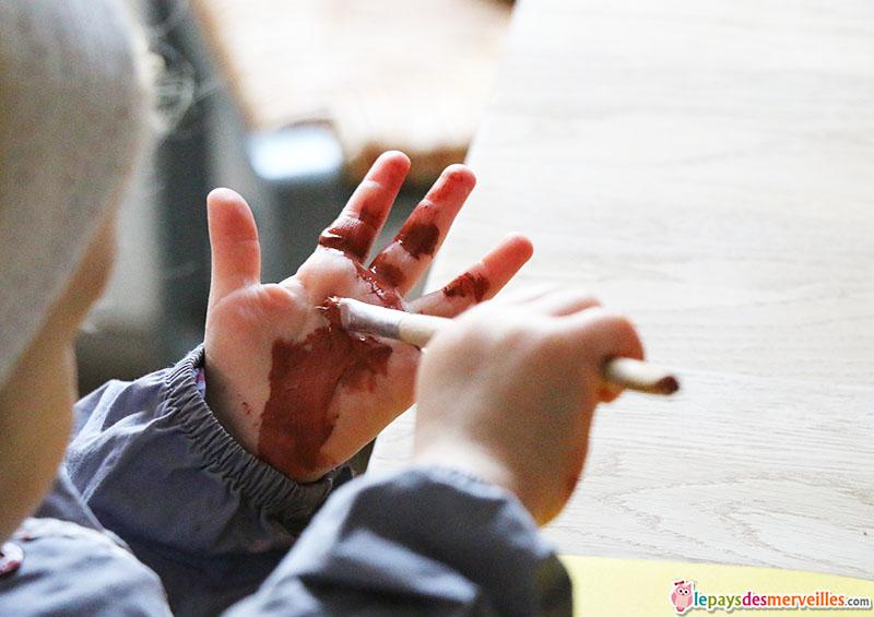 activité manuelle empreinte de main (2)