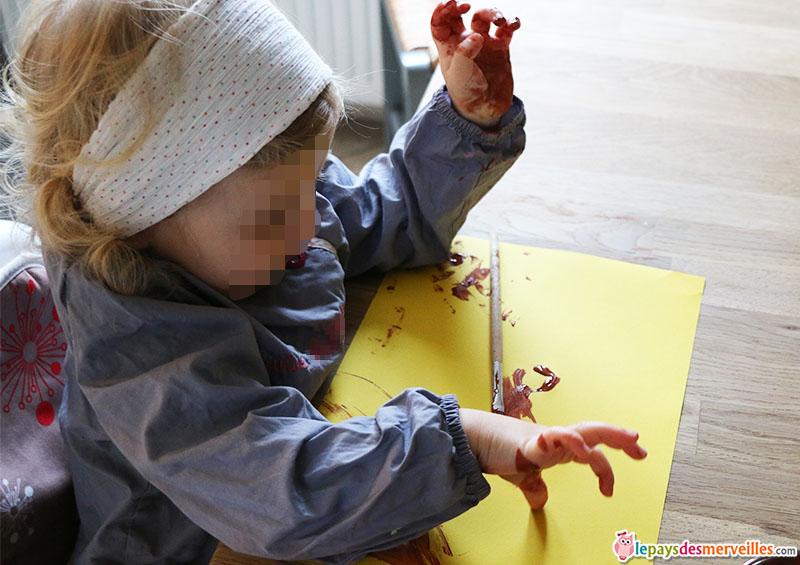 activité manuelle empreinte de main (3)