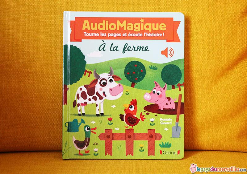 audiomagique a la ferme editions grund (1)