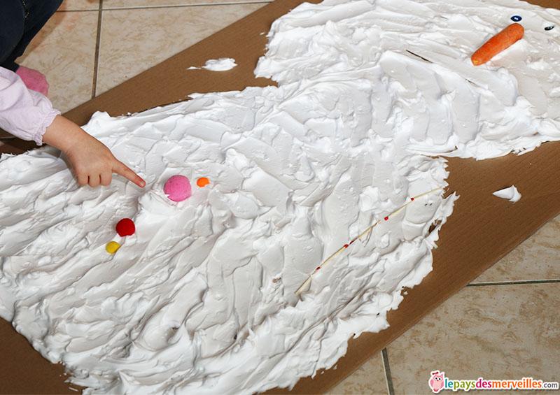 bonhomme de neige mousse a raser (6)