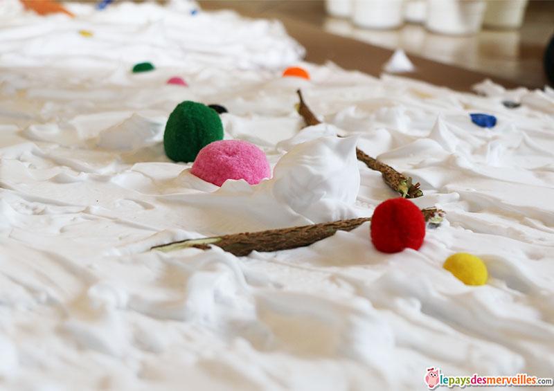 bonhomme de neige mousse a raser (8)