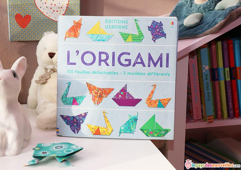 livre origami editions usborne