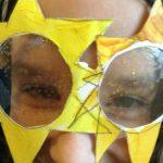 lunette en forme d'etoile