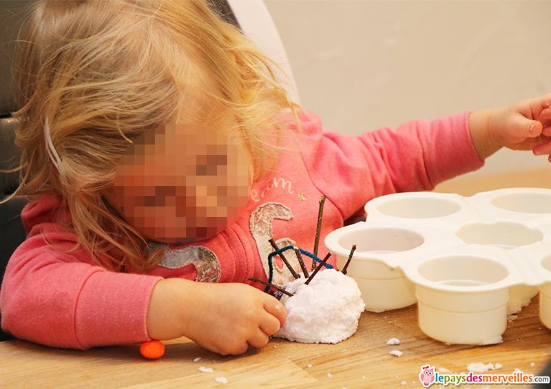 neige fait maison activité manuelle hiver (1)
