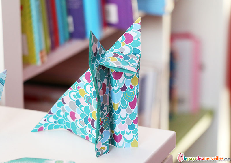 renard pliage origami