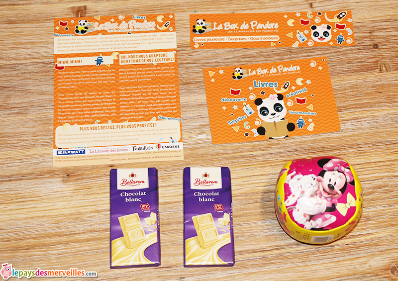 box de pandore goodies